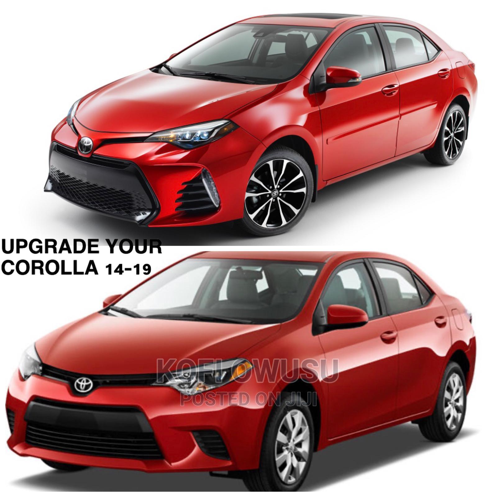 Toyota Corolla 2014,15 -2019 Upgrade