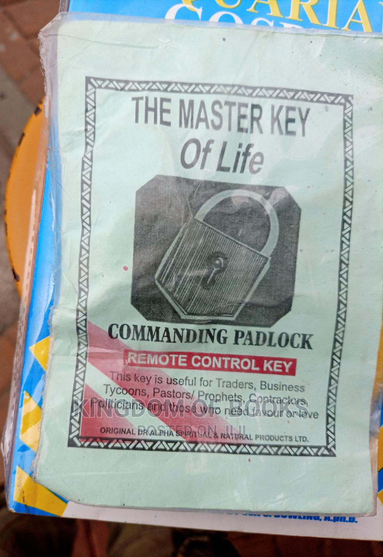Commanding Padlock