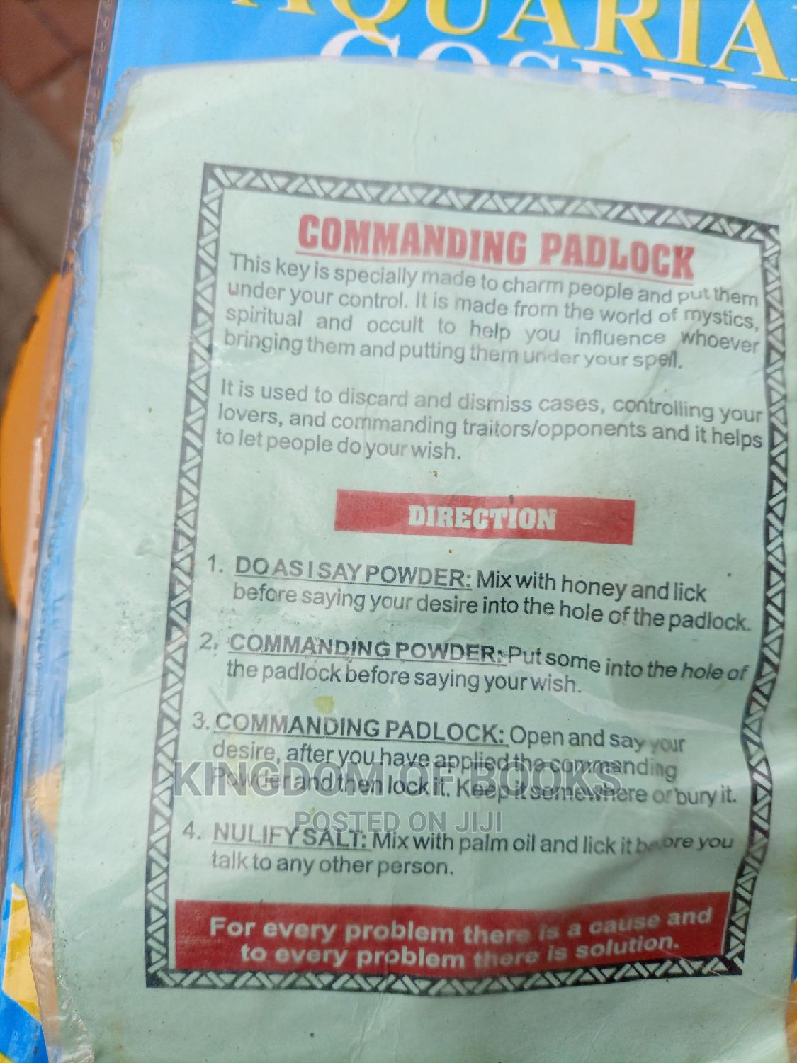 Commanding Padlock | Books & Games for sale in Airport Residential Area, Greater Accra, Ghana