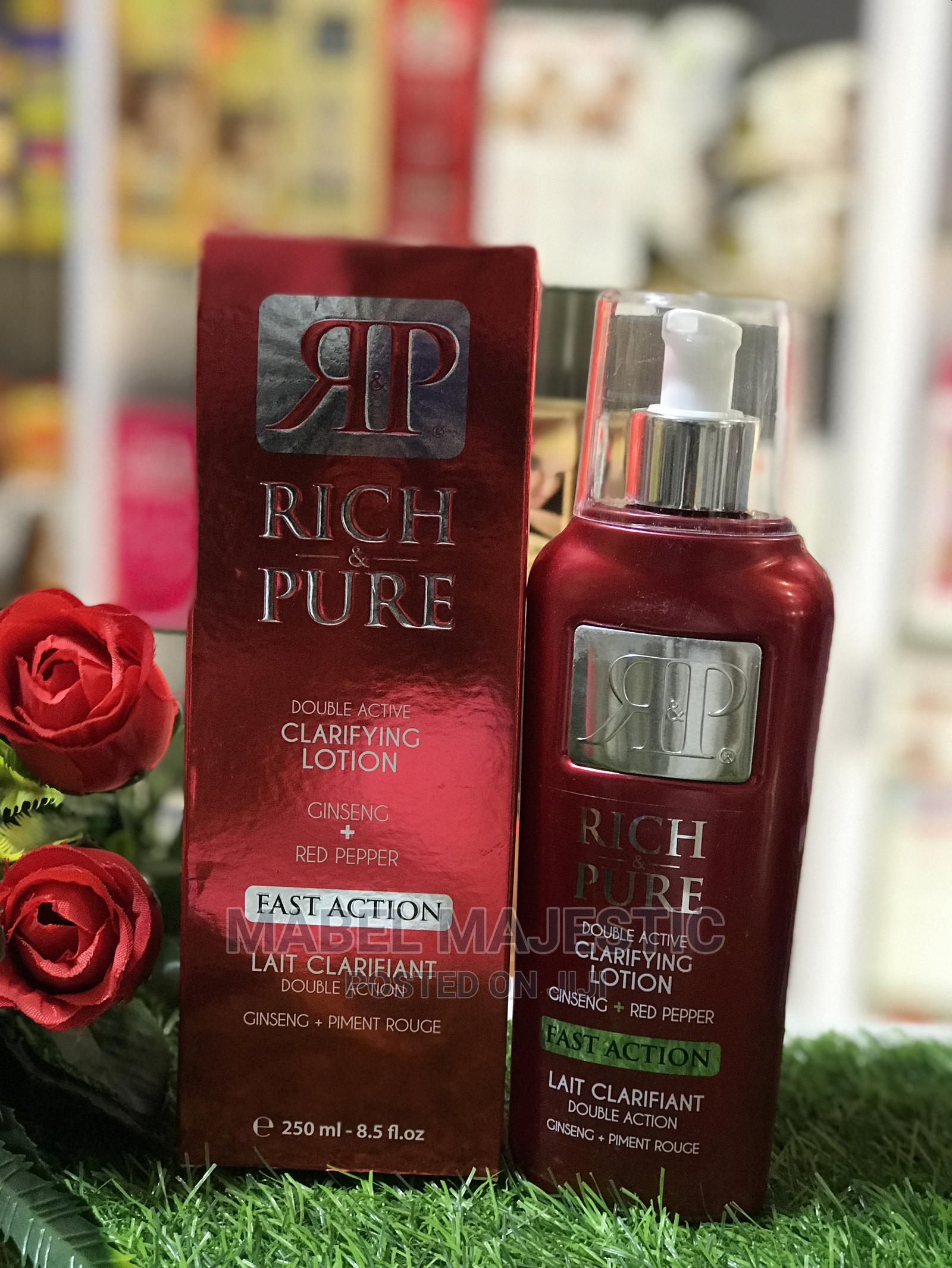Rich and Pure Double Active Clarifying Body Lotion