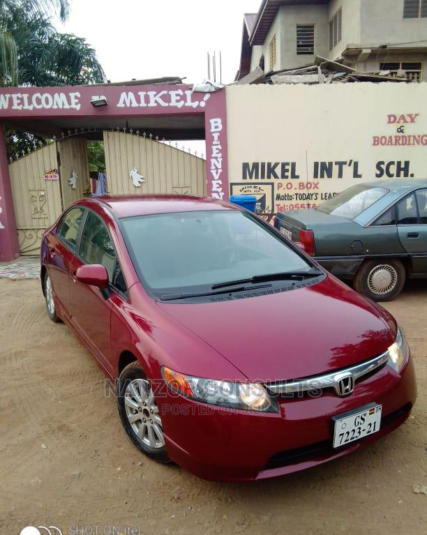 Archive: Honda Civic 2008 1.8 LX Automatic Red