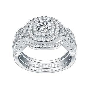 3 Set Original Solid Silver With Whitegold Wedding Ring. | Wedding Wear & Accessories for sale in Greater Accra, Ga South Municipal
