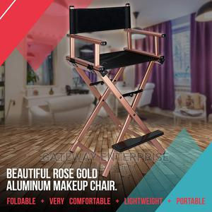 Beauty Professional Makeup Artist Chair, Foldable Aluminum M | Furniture for sale in Greater Accra, Spintex
