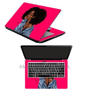 Princess Kay Thinking Laptop Sticker- Pink   Computer Accessories  for sale in Greater Accra, East Legon