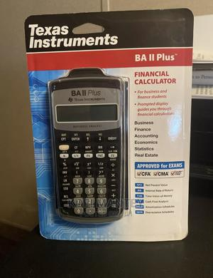 Ba Ii PLUS Texas Instruments Financial Calculator   Stationery for sale in Greater Accra, Odorkor