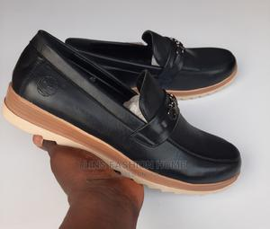 Timberland Slip on Black Leather Loafer | Shoes for sale in Greater Accra, Ga West Municipal