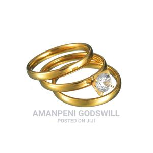 3-piece Wedding Ring – Gold | Wedding Wear & Accessories for sale in Greater Accra, East Legon