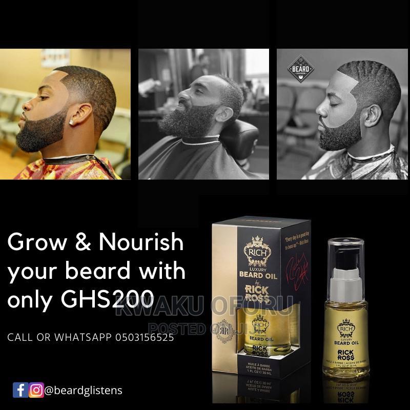 Rich by Rick Ross Beard Oil   Hair Beauty for sale in Accra Metropolitan, Greater Accra, Ghana