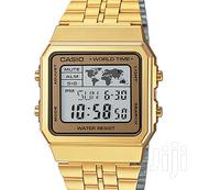 CASIO Men's Digital World TIME A500wga-9df   Watches for sale in Ashanti, Kumasi Metropolitan