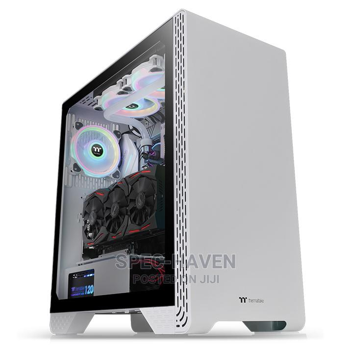 Thermaltake S300 TG White Mid Tower Case