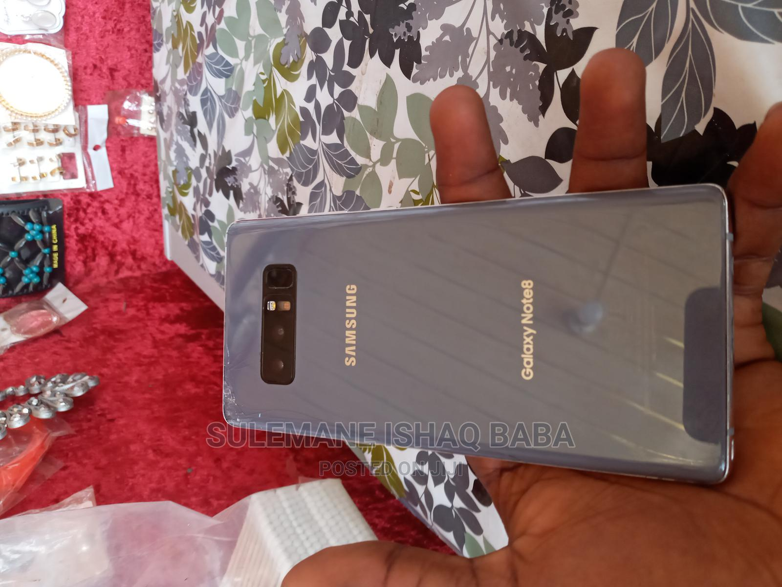 Samsung Galaxy Note 8 Board+ Cracked Screen