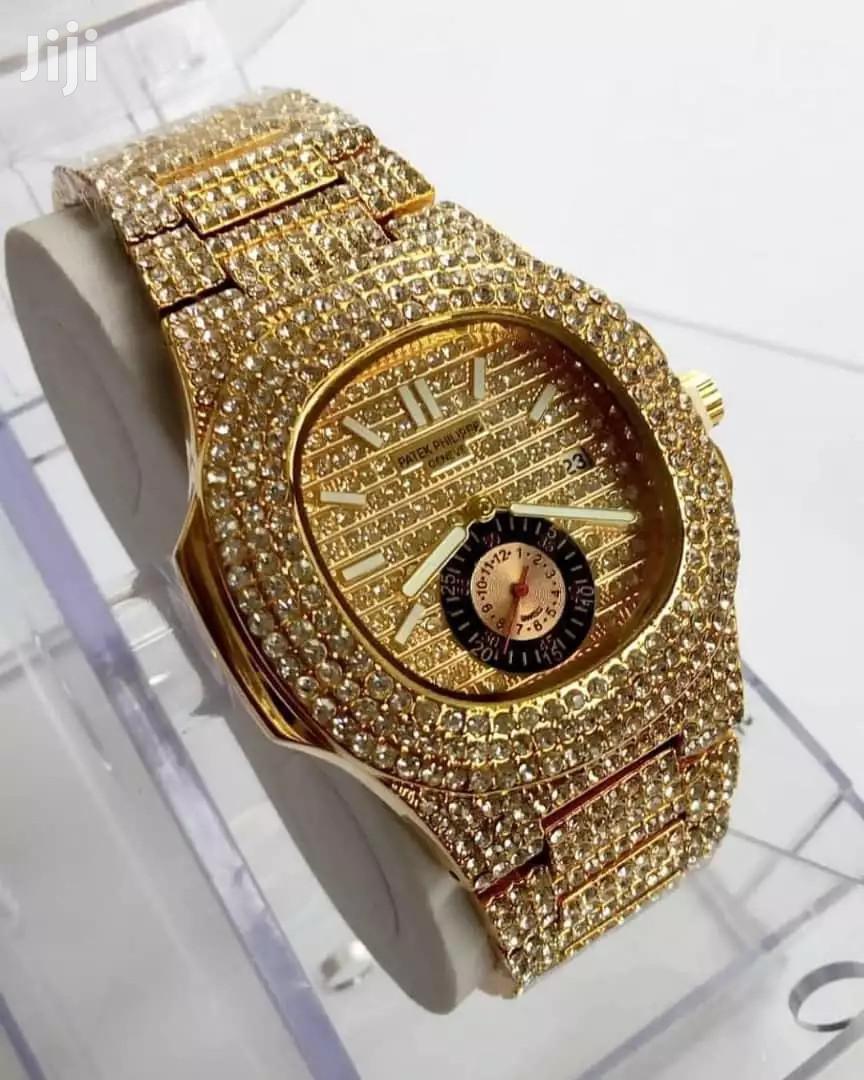 Patek Philippe Nautilus Studded Watch