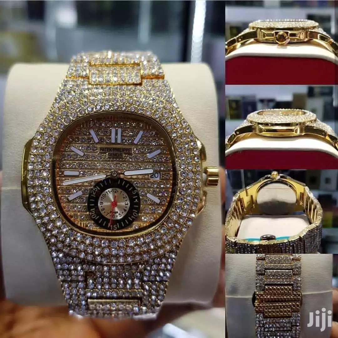 Patek Philippe Nautilus Studded Watch | Watches for sale in Adenta Municipal, Greater Accra, Ghana
