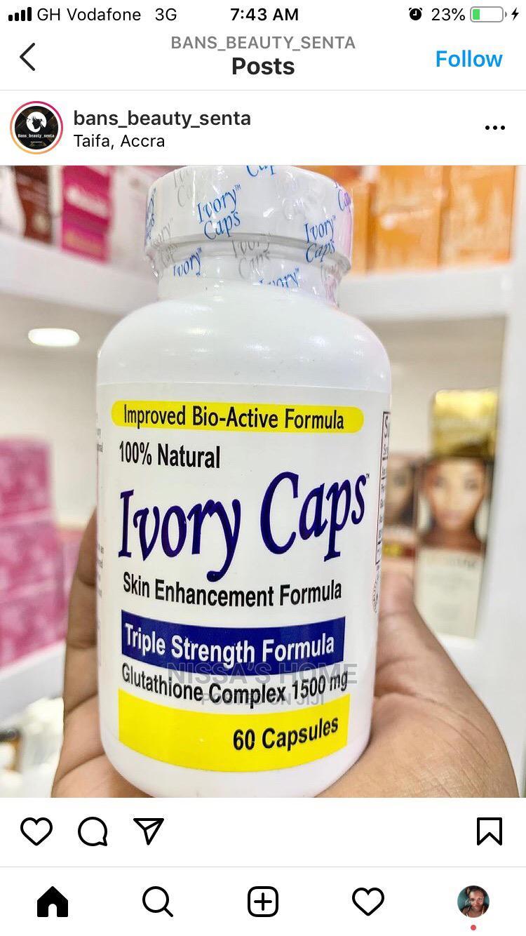 Ivory Caps Whitening Supplements
