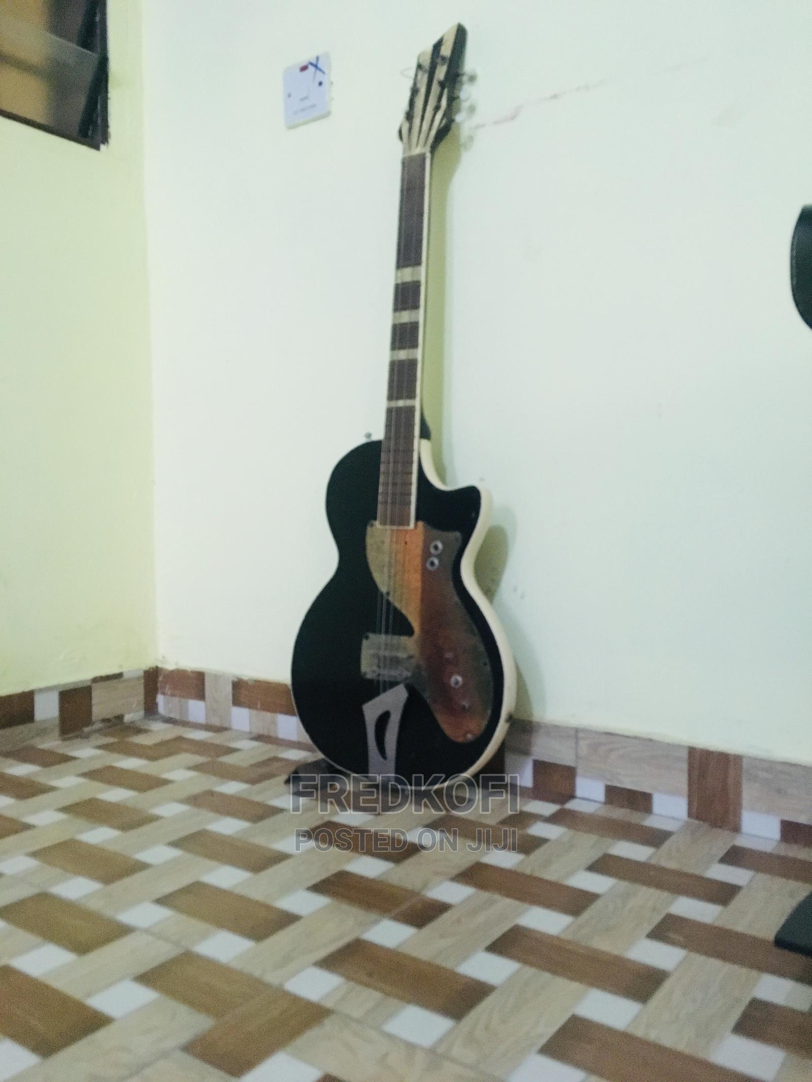Old Fender Stratocaster Guitar