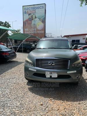 Infiniti QX56 2012 Gray   Cars for sale in Greater Accra, Abelemkpe