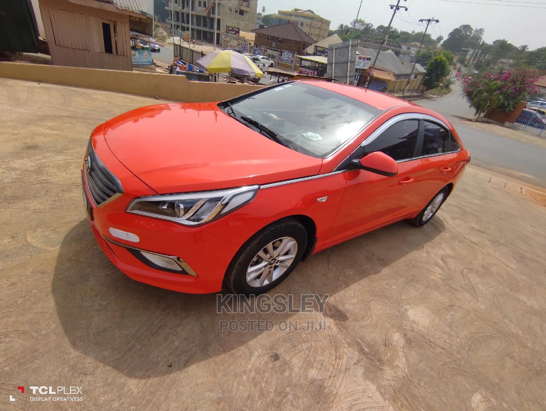 Hyundai Sonata 2015 Orange
