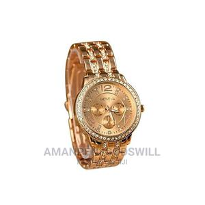 Geneva Stainless Steel Analog Quartz Wrist Watch – Rose Gold | Watches for sale in Greater Accra, East Legon