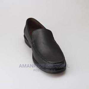 Leather Slip-On Penny Loafers – Black | Shoes for sale in Greater Accra, East Legon