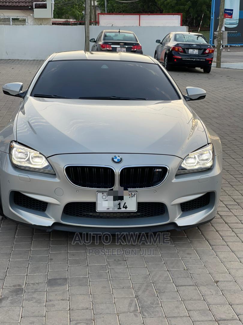 BMW M6 2014 Silver