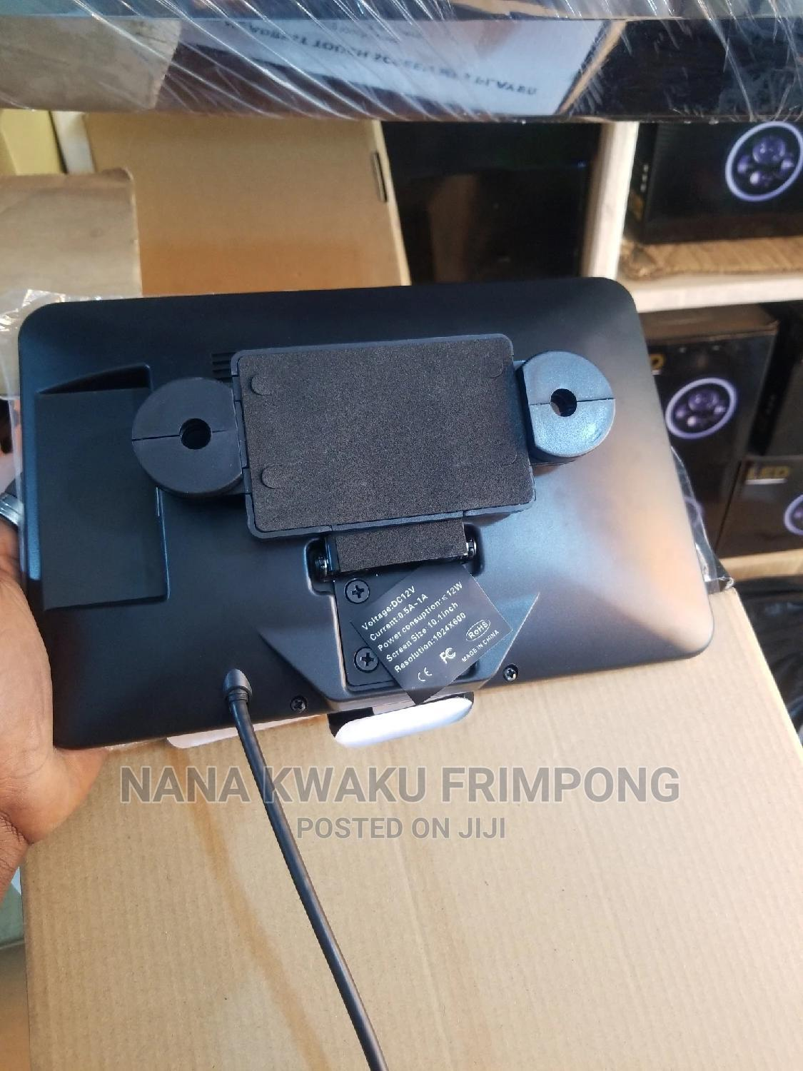 Flat Head Rest Monitor 10 Inches Available | Vehicle Parts & Accessories for sale in Abossey Okai, Greater Accra, Ghana