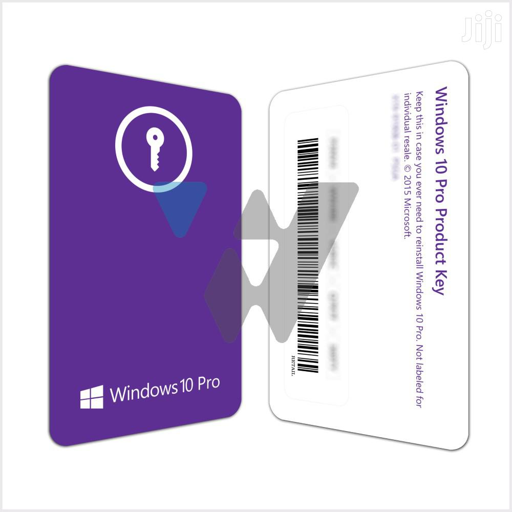 Archive: Microsoft Windows 10 Pro (1PC License)