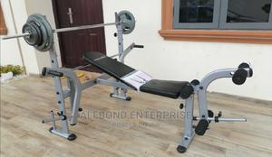 Multifunction Bench Press With 50kg Weight | Sports Equipment for sale in Greater Accra, Ga East Municipal