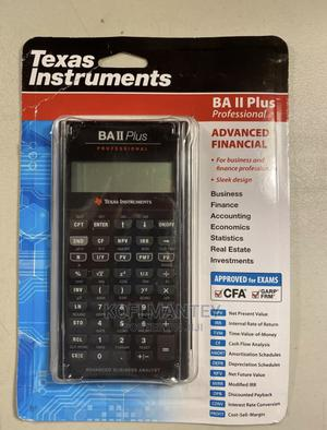 Texas Instruments Ba Ii Plus Professional Calculator   Stationery for sale in Greater Accra, Odorkor