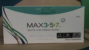 Max 357( Omega) | Vitamins & Supplements for sale in Greater Accra, Accra Metropolitan