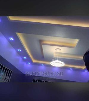 Plasterboard Ceiling. Atsu's Multi Millions Interior Decor | Building & Trades Services for sale in Greater Accra, Accra Metropolitan