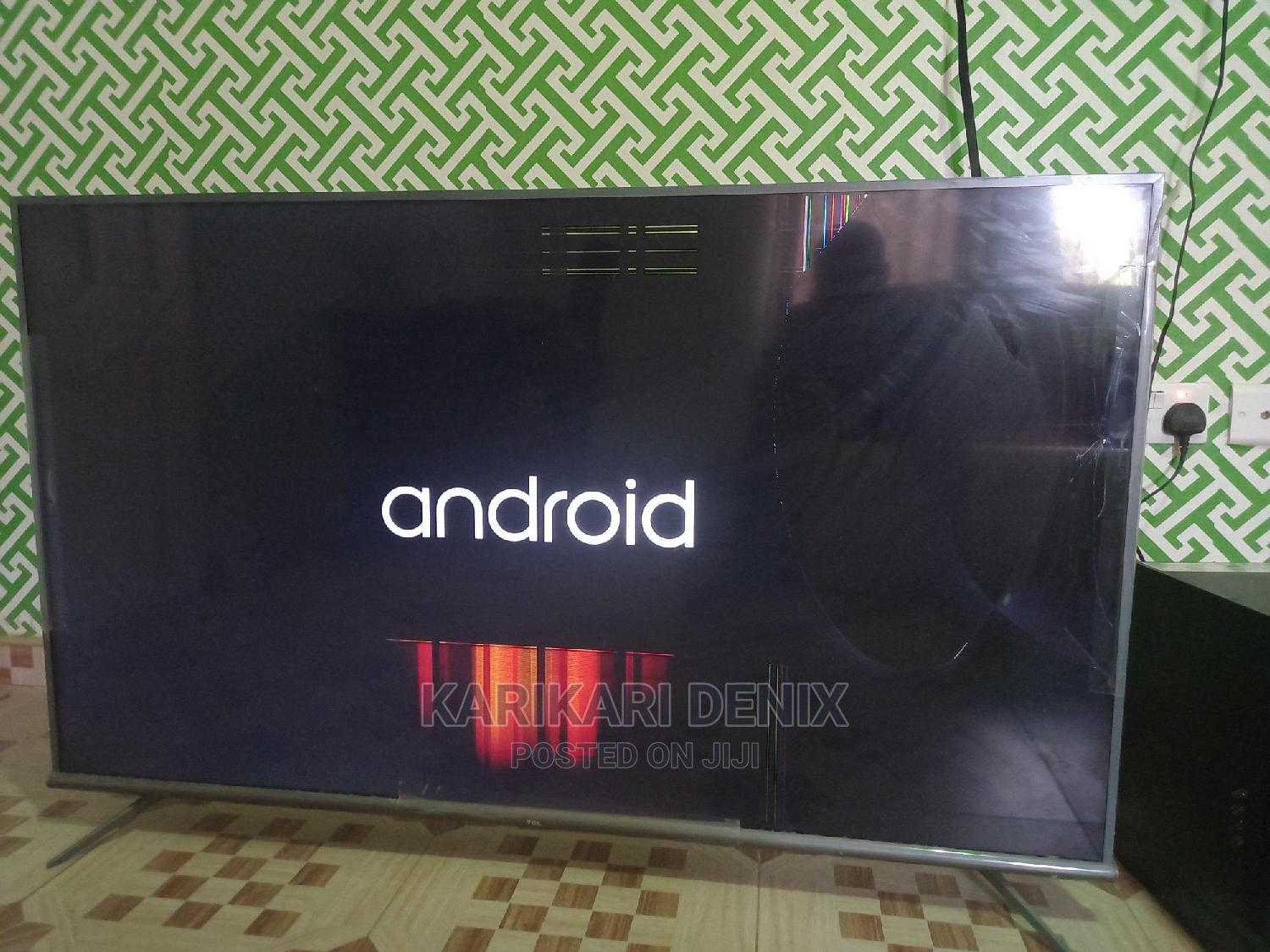 Tcl Android 4k 55inches