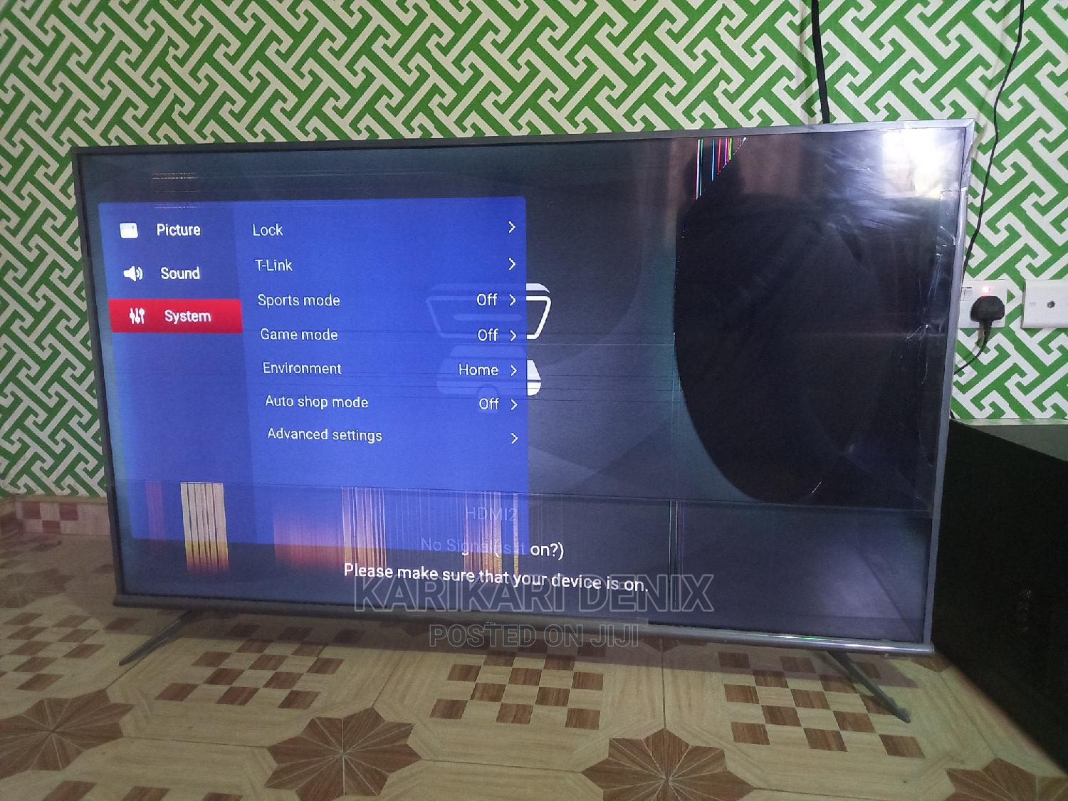 Tcl Android 4k 55inches | TV & DVD Equipment for sale in Atwima Nwabiagya, Ashanti, Ghana