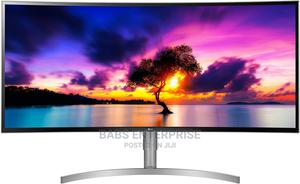 """LG 38wk95c-W 38"""" Curved Ultrawide WQHD+ Monitor   Computer Monitors for sale in Greater Accra, Accra Metropolitan"""