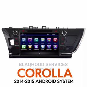 Toyota Corolla 2014-15 10inch Fullscreen Android Car System | Vehicle Parts & Accessories for sale in Greater Accra, Abossey Okai