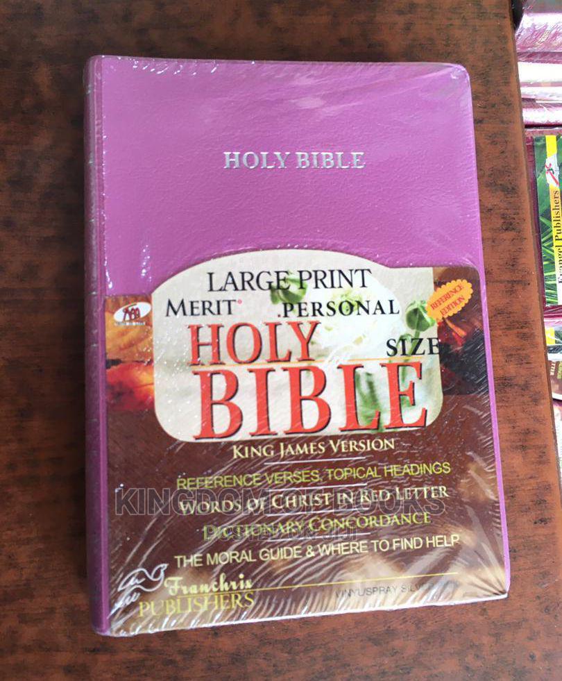 Holy Bible Kjv Large Print