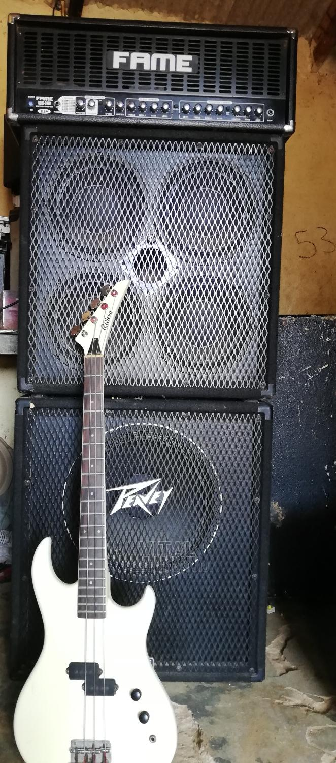 Set of Bass for Big Shows