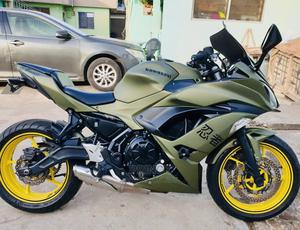 Kawasaki Ninja 650 2019 Green   Motorcycles & Scooters for sale in Greater Accra, Achimota
