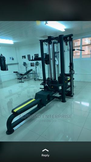 Commercial 4 Station Multi-Gym Machine | Sports Equipment for sale in Greater Accra, East Legon