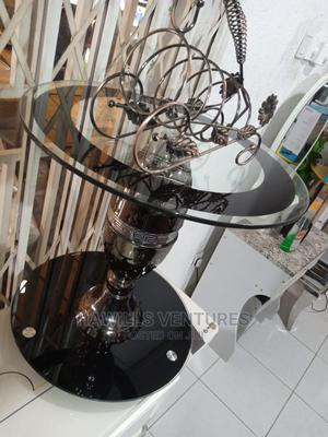 Black Glass Coffee Table   Furniture for sale in Greater Accra, Adabraka