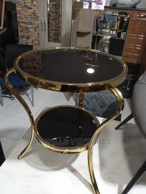 Round Black Coffee Table   Furniture for sale in Greater Accra, Adabraka