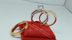 Quality Non-fading Engagement And Wedding Rings Set | Wedding Wear & Accessories for sale in Ashanti, Kumasi Metropolitan