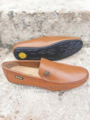 Timberland Men's Brown Leather Loafers | Shoes for sale in Greater Accra, Ga West Municipal