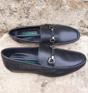 Ferragamo Black Leather Loafers | Shoes for sale in Greater Accra, Ga West Municipal