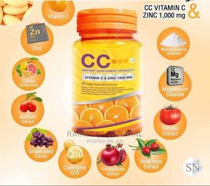 New CC Vitamin C With Zinc 1000 Mg | Vitamins & Supplements for sale in Ashanti, Kumasi Metropolitan