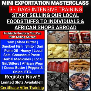 Learn How to Sell Our Local Foodstuffs to Individuals Abroad   Classes & Courses for sale in Greater Accra, Accra Metropolitan