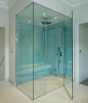 Trusted Shower Glass Partition Fabricate | Building & Trades Services for sale in Greater Accra, Mataheko