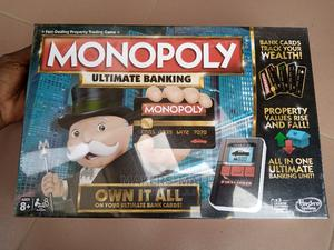 Original Monopoly With Credit Cards Ultimate Banking Version   Books & Games for sale in Greater Accra, Spintex
