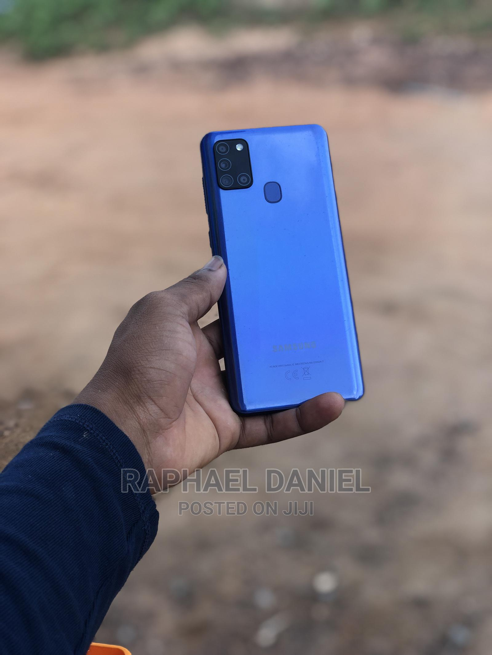 Samsung Galaxy A21s 64 GB Blue | Mobile Phones for sale in Accra Metropolitan, Greater Accra, Ghana