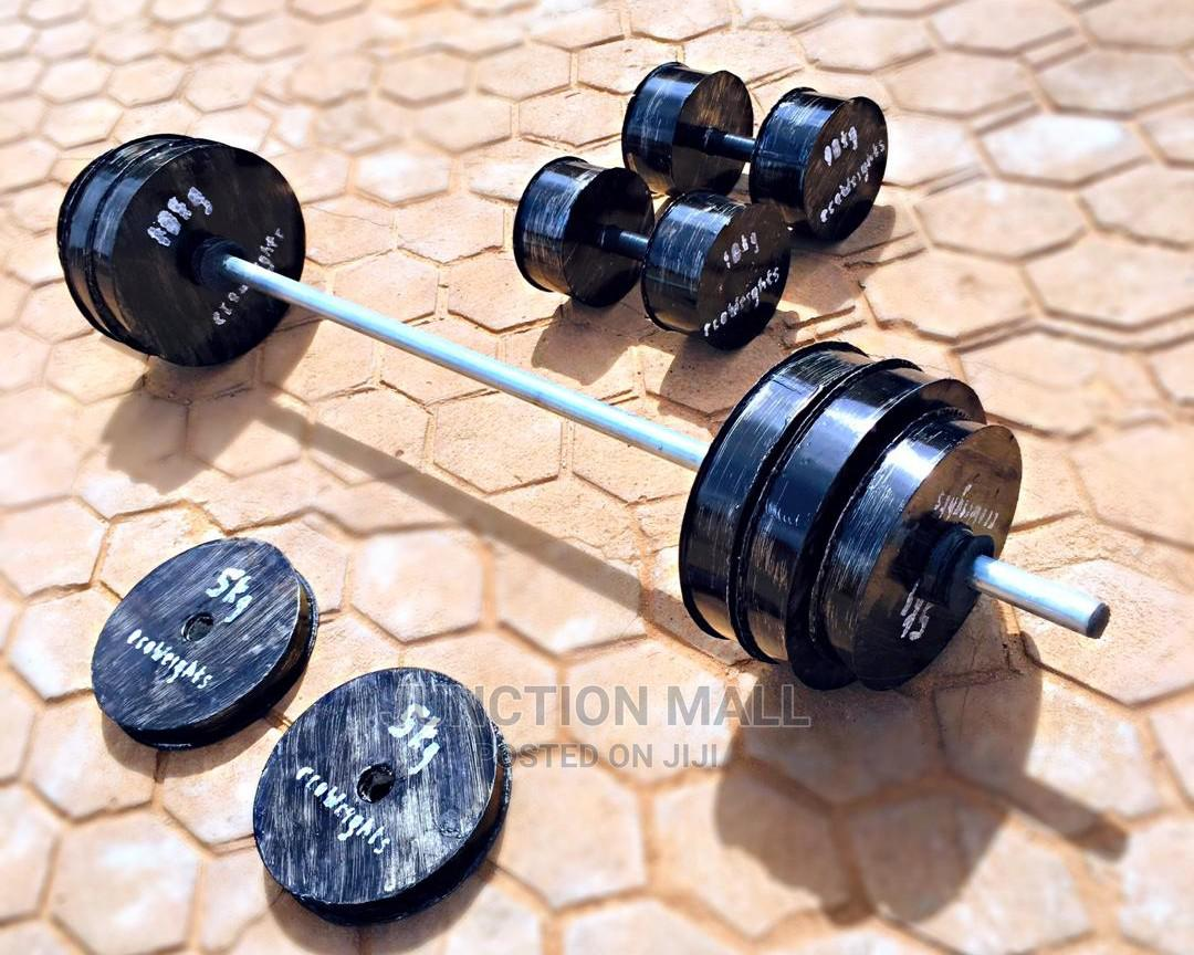Dav Weights Barbells and Dumbbells   Sports Equipment for sale in Achimota, Greater Accra, Ghana