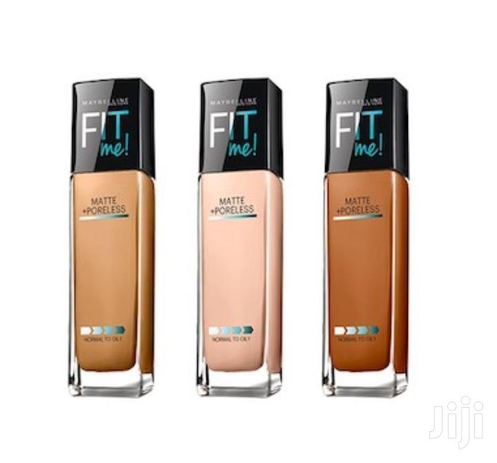 Archive: Fit Me Maybelline Foundation